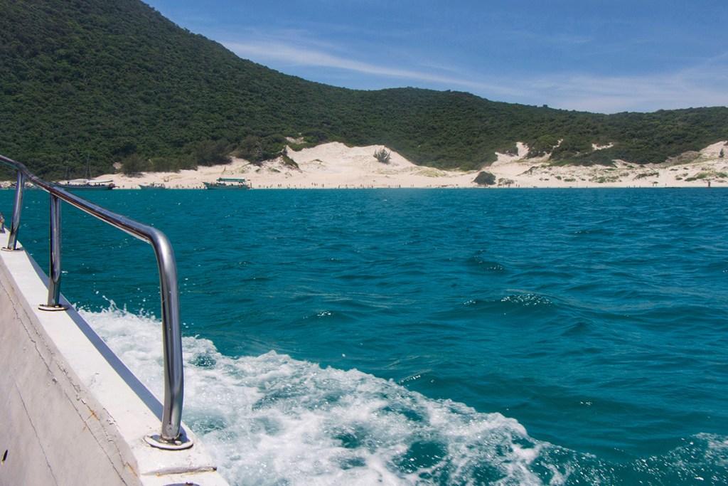 O que fazer em Arraial do Cabo - Passeio de Barco