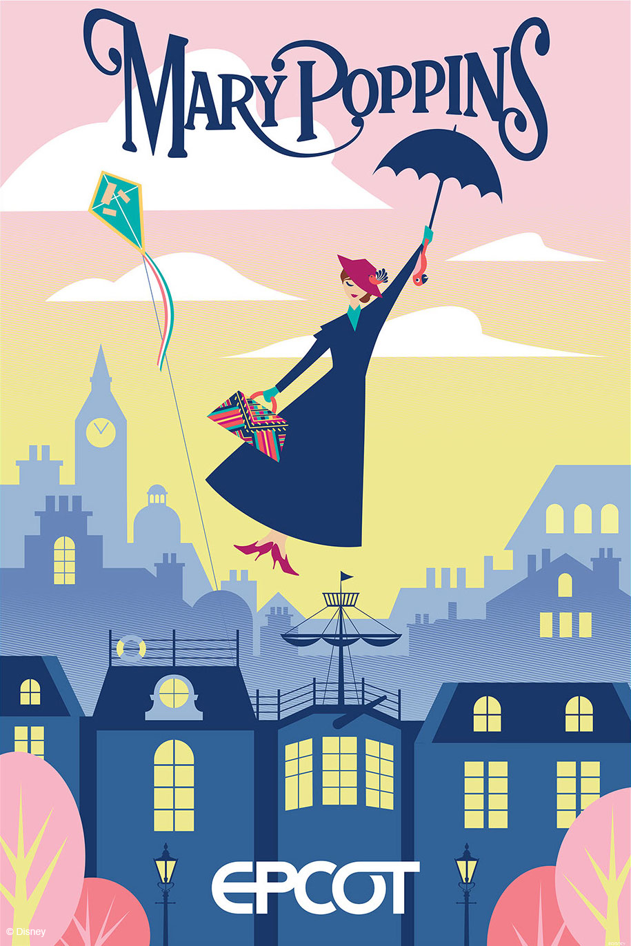 Epcot - Mary Poppins