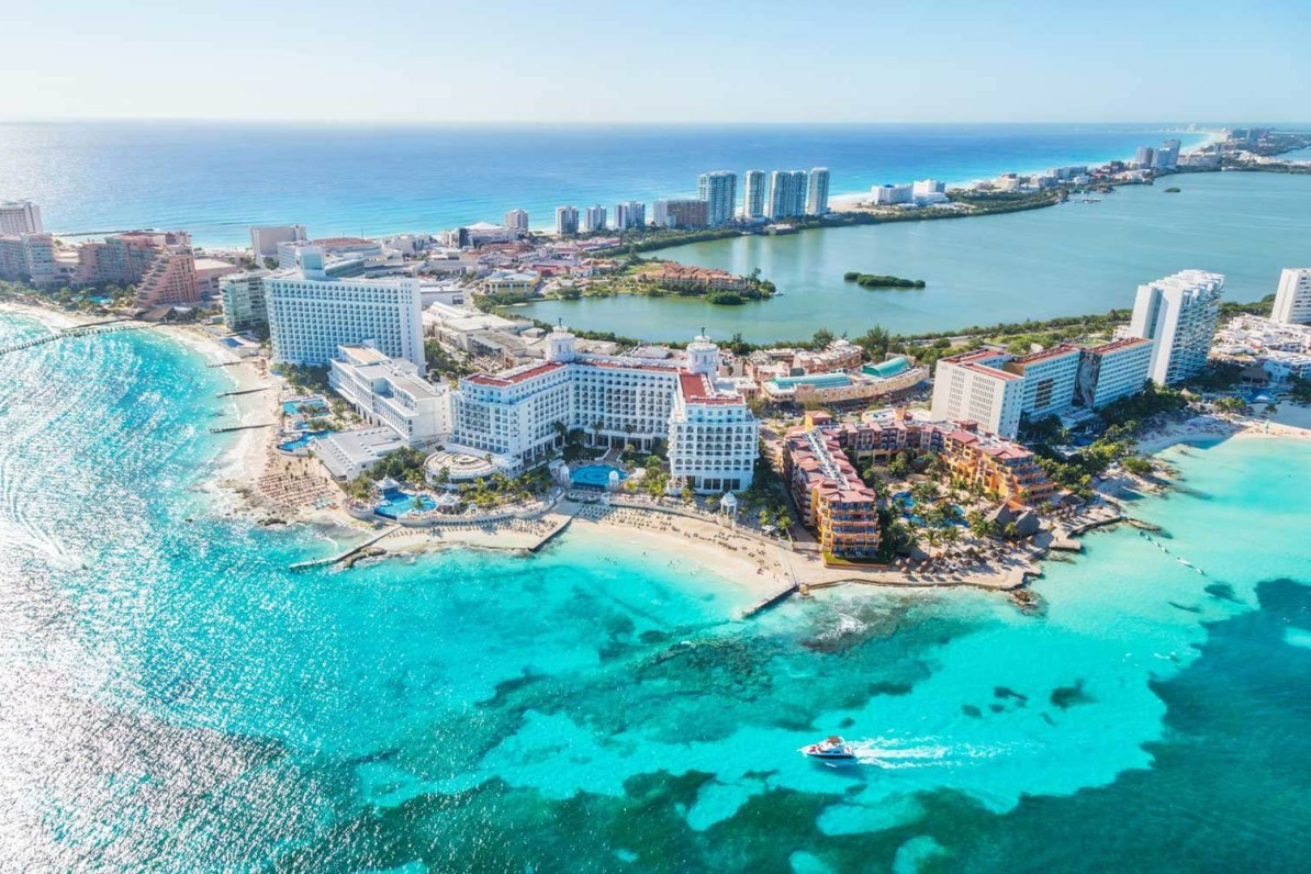 Destinos para viajar no verão: Cancún
