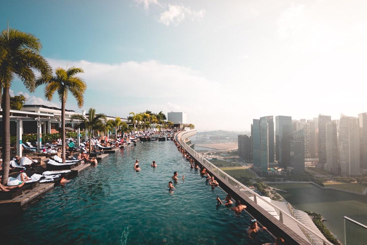 Marina Bay Sands - Piscinas Mais Incríveis do Mundo
