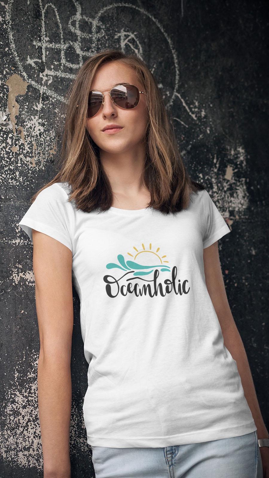 Camisetas com temas de viagem