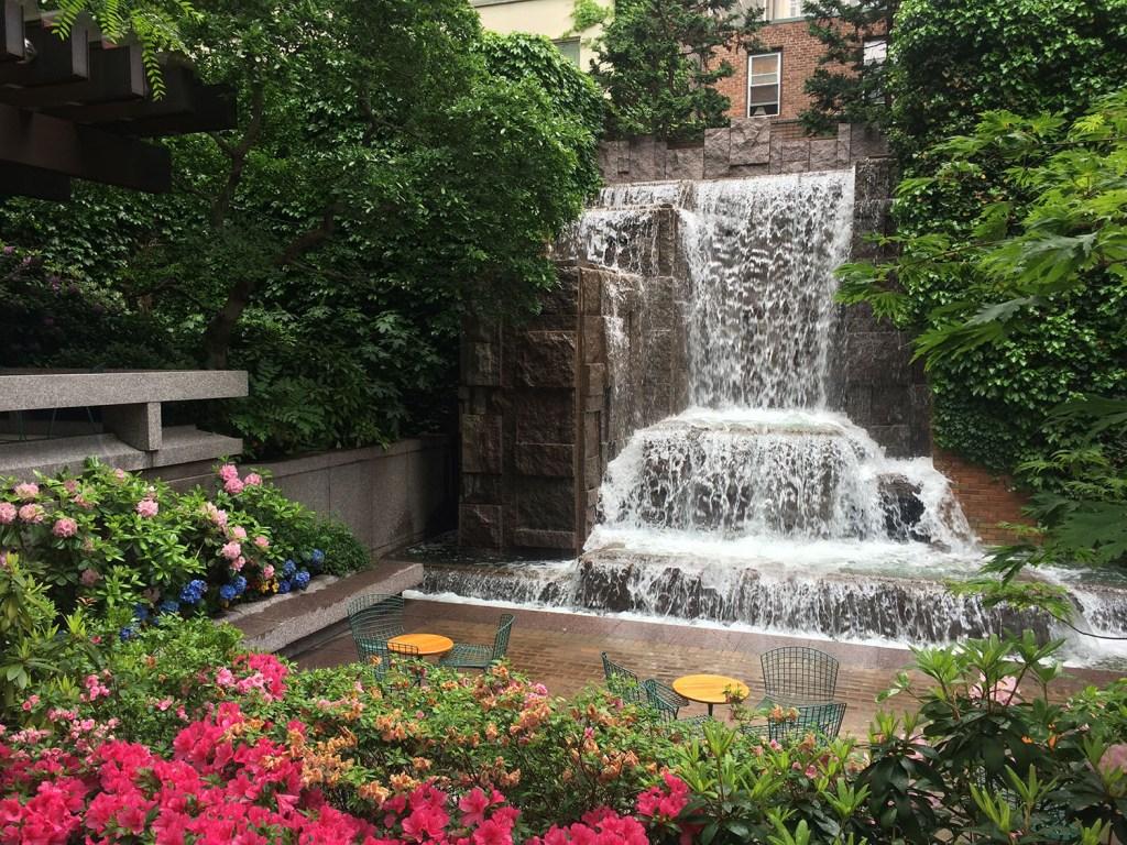 Passeios alternativos de Nova York: Greenacre Park