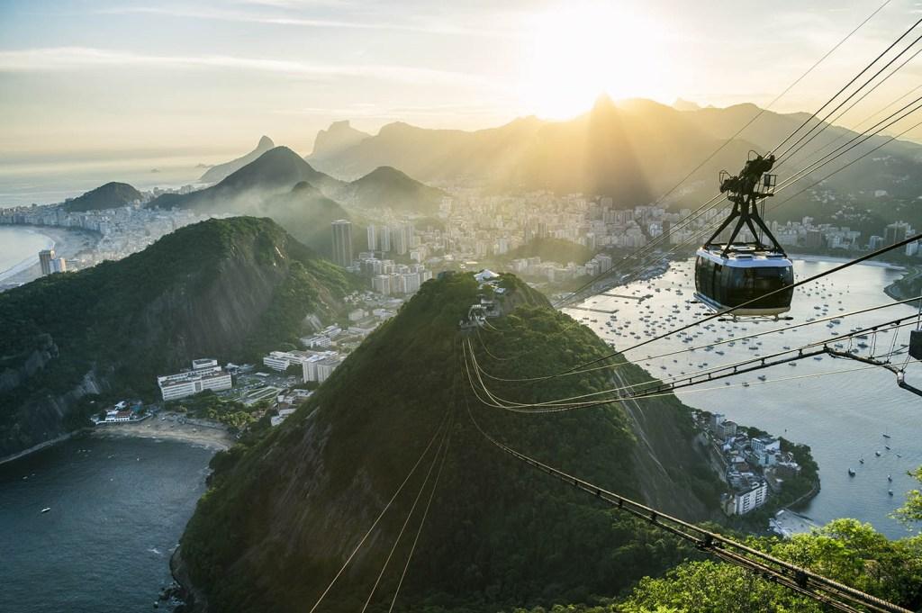 Principais atrações do Rio de Janeiro: Bondinhos do Pão de Açúcar