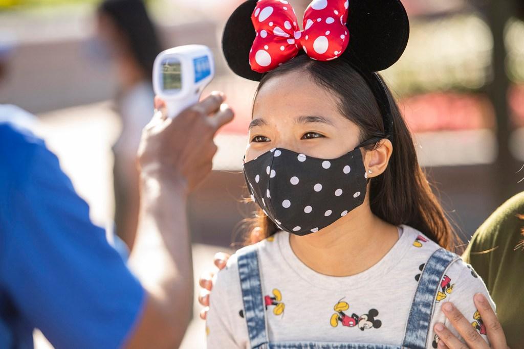 Reabertura Parques da Disney: Verificação de Temperatura