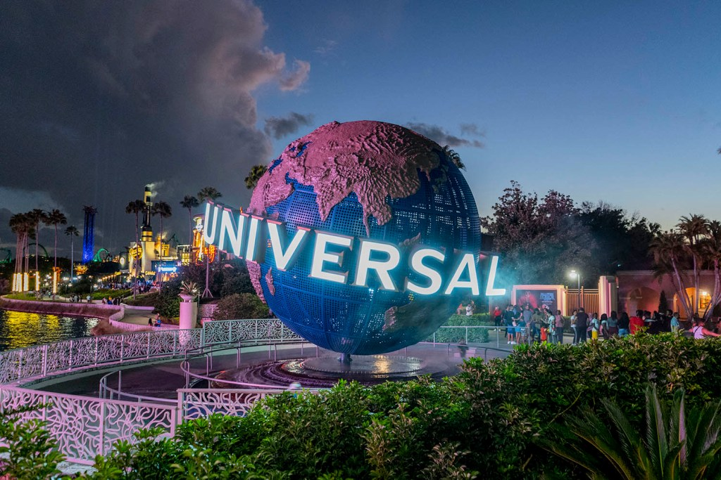 Anoitecer no Universal Studios (Foto: Andy Spinelli)