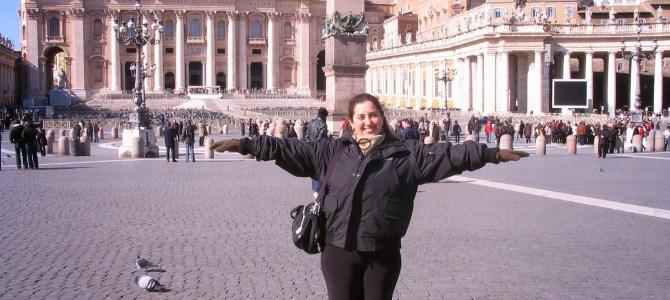 ROMA – Vaticano – Praça de São Pedro
