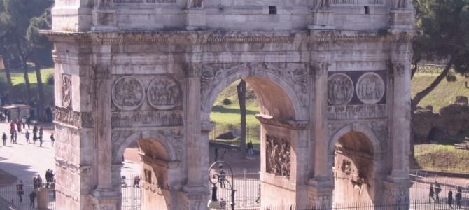 ROMA – Arco de Constantino
