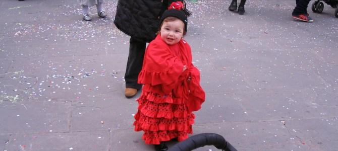 FLORENÇA – Carnaval das crianças em Firenze