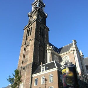 AMSTERDAM – Westerkerk – A maior igreja protestante da Holanda