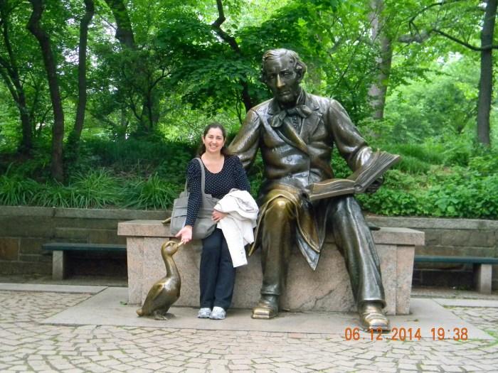 Estátua Hans Christian Andersen