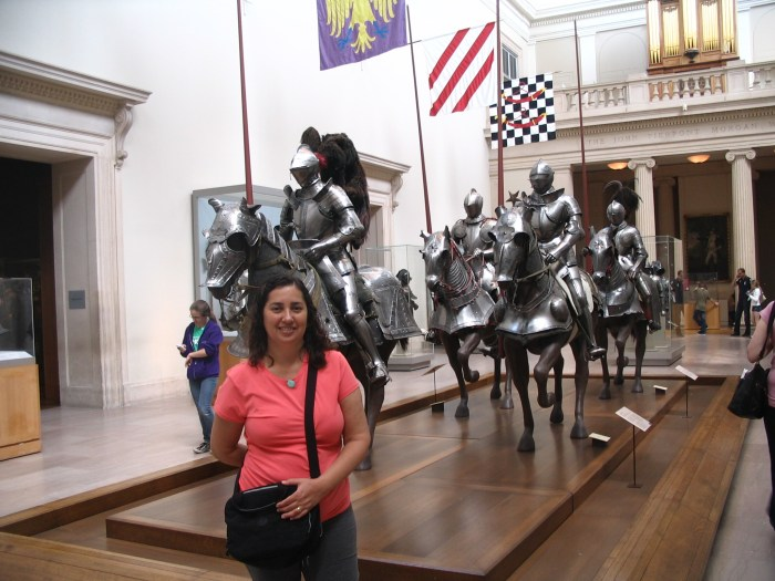 Armaduras do Metropolitan Museum