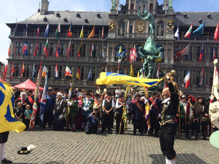 Festa em Antuérpia