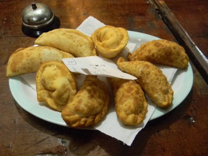 Além das deliciosas empanadas