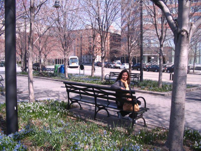 e parques, como o lindo Battery Park