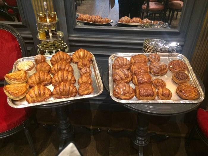 e outros croissants, mais francês impossível