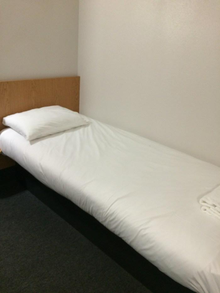 e duas camas de solteiro. Foto: GGOP / Blog Destinos por onde andei...