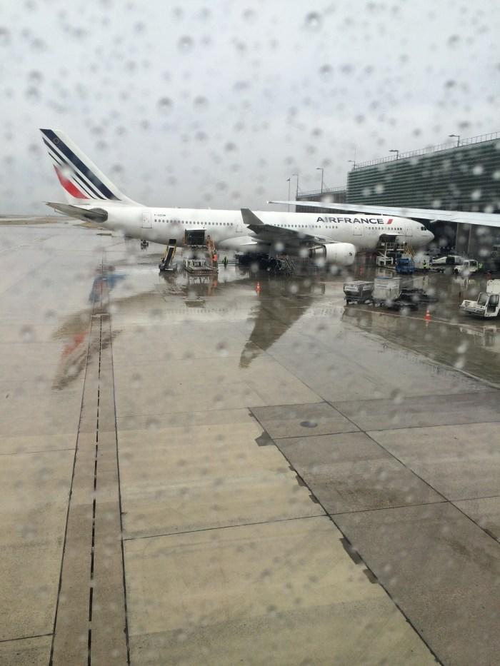 Nosso avião já estava no pátio. Foto: GGOP / Blog Destinos por onde andei...