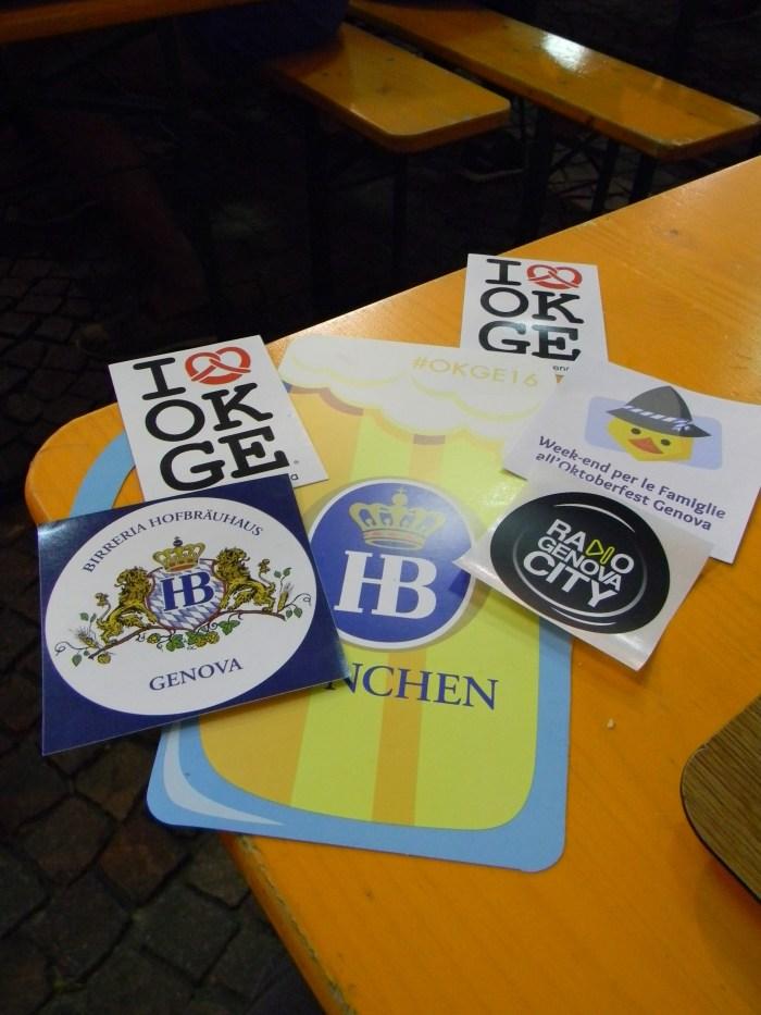 Ganhamos vários adesivos como recordação - GGOP / Blog Destinos por onde andei...