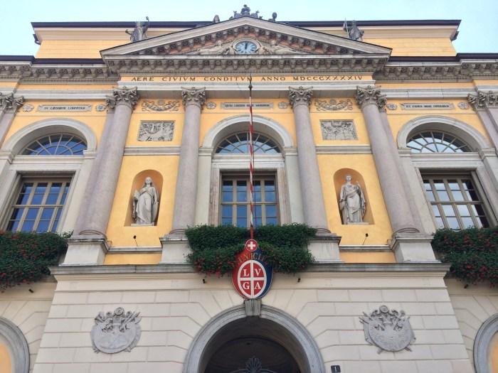 a Prefeitura de Lugano