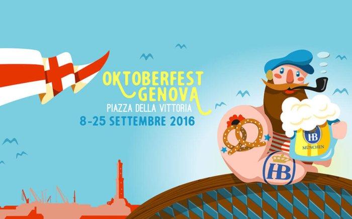 Banner oficial da Oktoberfest de Gênova 2016