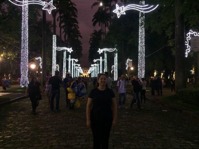 Inauguração iluminação de Natal Praça da Liberdade