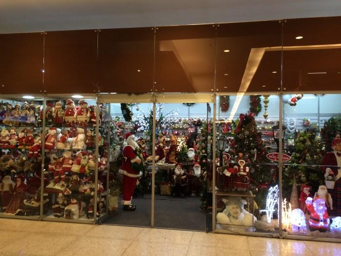 Lojas de decoração Natalina