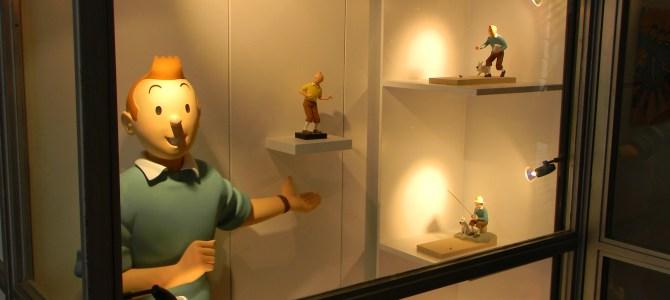 La Boutique Tintin em Bruxelas