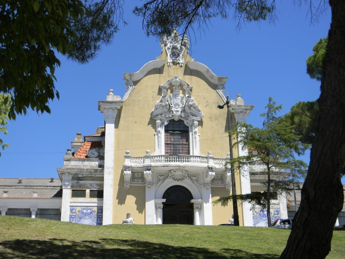 Pavilhão Carlos Lopes, antigo centro desportivo