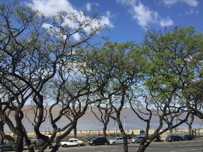 Rio da Prata visto do Aeroparque