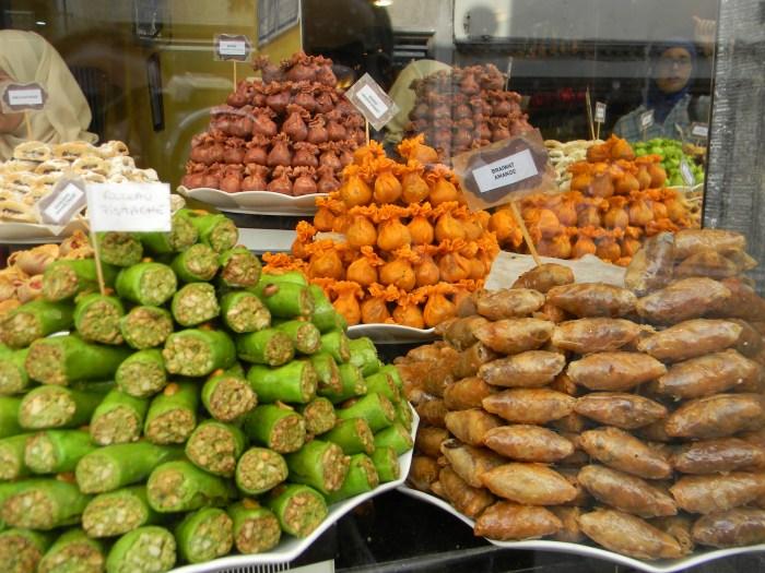 Loja de doces árabes