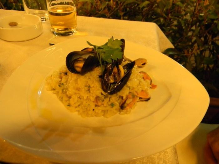 Risotto Frutti di Mare em Florença
