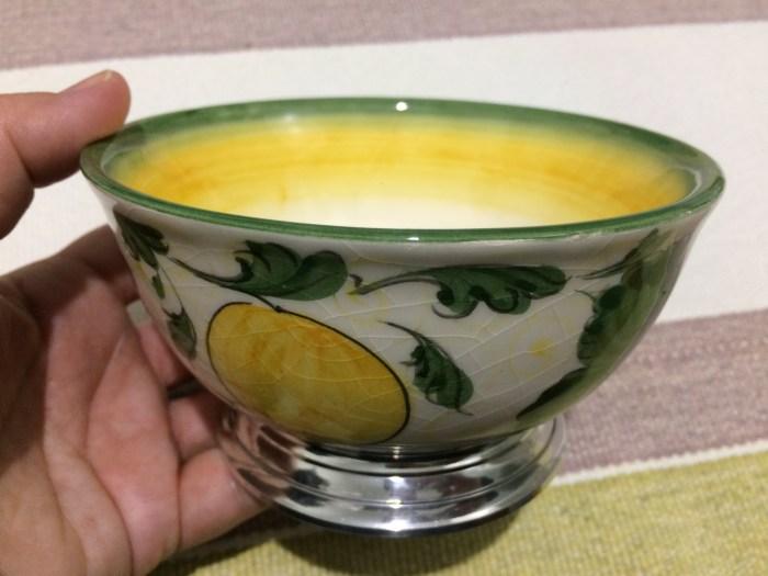 Bowl em cerâmica e estanho, de Tiradentes, Minas Gerais