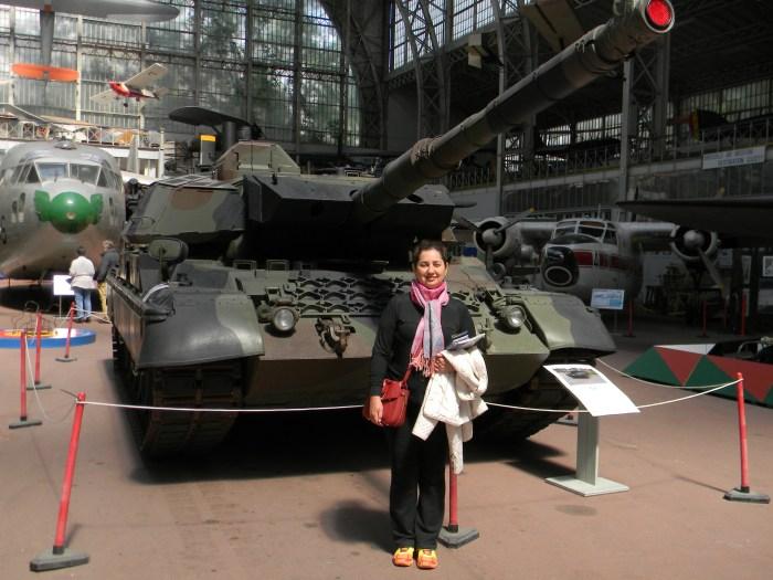 Enormes tanques de Guerra
