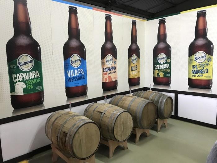 Tonéis e os diversos tipos da Cerveja Blumenau
