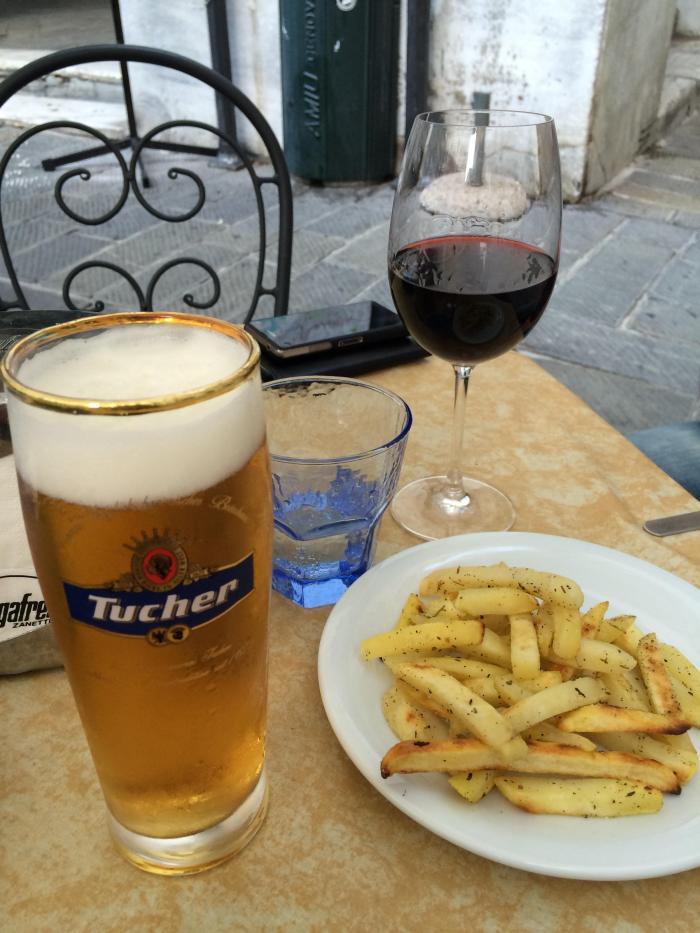 Aperitivo na Itália