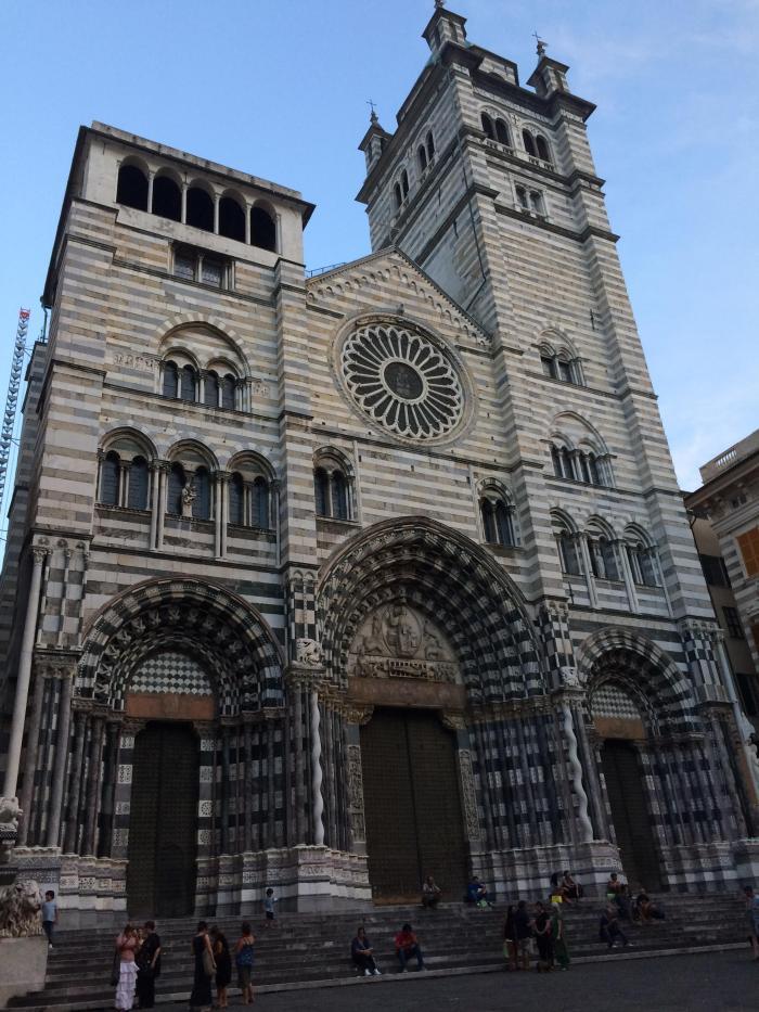 Uma das atrações da cidade por sua arquitetura