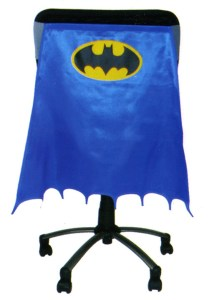 Classic Batman Chair Cape