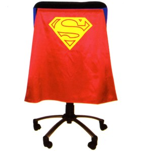 Classic Superman Chair Cape