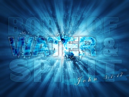 Water and Spirit - John 3:1-17