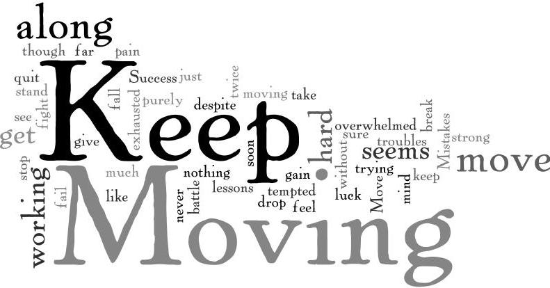 Image result for Keep Moving