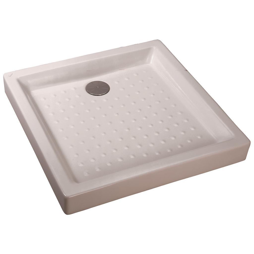 receveur a poser ulysse2 blanc ceramique 90 x 90 cm ideal standard