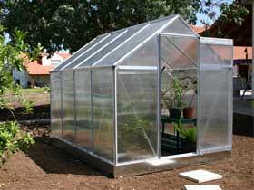 lots serres de jardin polycarbonate