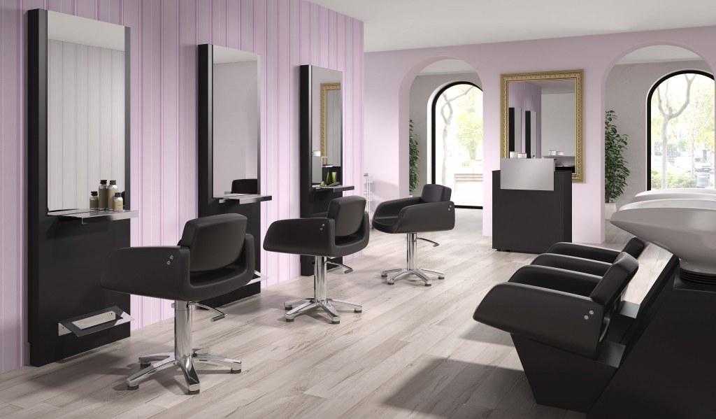 Pack Mobilier Salon Coiffure Divine 3 Postes Destockage