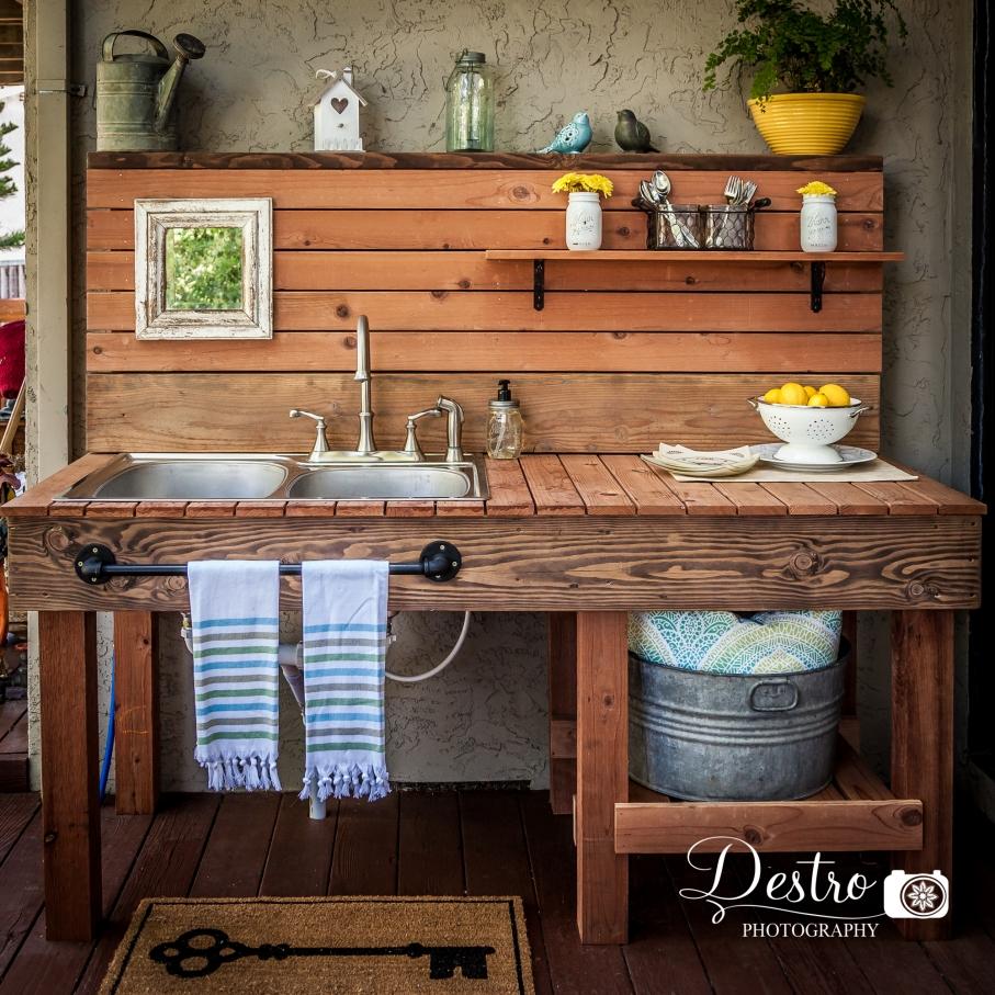 Outdoor Sink {Destro Photography: Project} » Destro ... on Outdoor Patio Sink id=69723