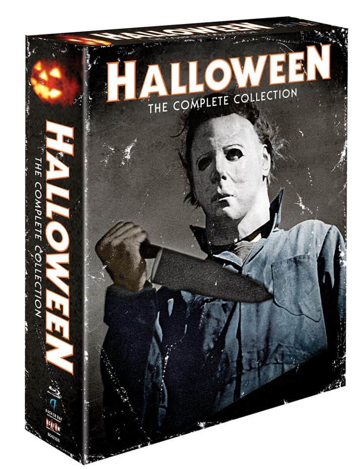 HALLOWEEN: THE COMPLETE COLLECTION' Shows Off Its Artwork