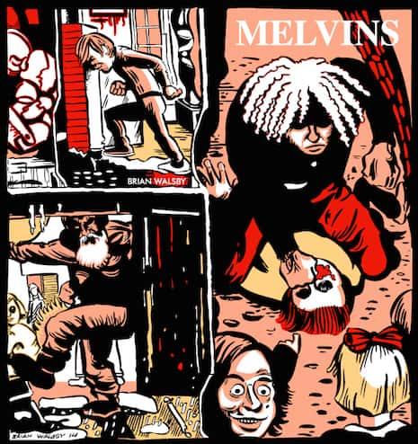 Melvins Fair Warning DETAIL