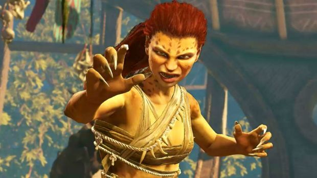 426146-cheetah-injustice-2 Cheetah looks purrty good in her Injustice 2 gameplay trailer iOS