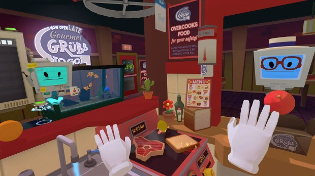 Job Simulator scores a free endless mode screenshot