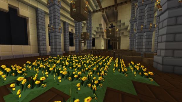 Wow Final Fantasy VII Midgar Recreated In Minecraft