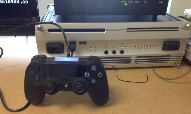 caca 620x - Vaza imagem do possível controle do Playstation 4